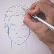 Desenhe um penteado: cabelo anelado