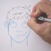 Desenhe um penteado: despenteado