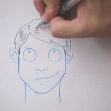 Desenhe um penteado: franja Sozinha