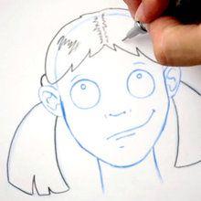 Desenhe um penteado: Maria-chiquinha