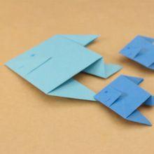 Origami peixes para crianças