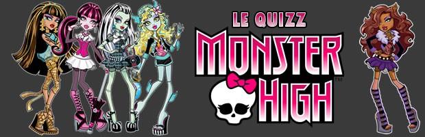O questionário de Monster High