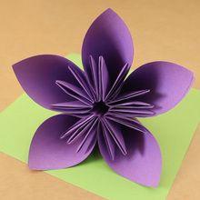 A flor origami