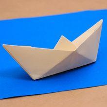 O barco origami