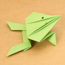 O sapo origami