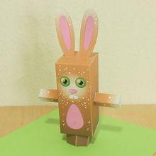 Papertoy de Páscoa: o coelho