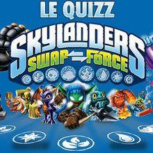 Os personagens em Skylanders