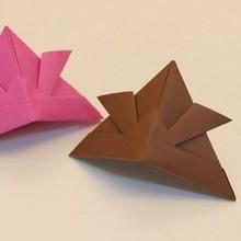 O capacete origami