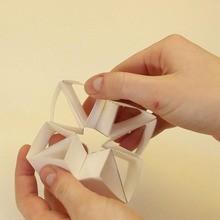 Os triângulos papertoy