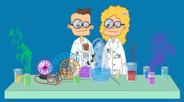 Experiências científicas e Projetos de ciência