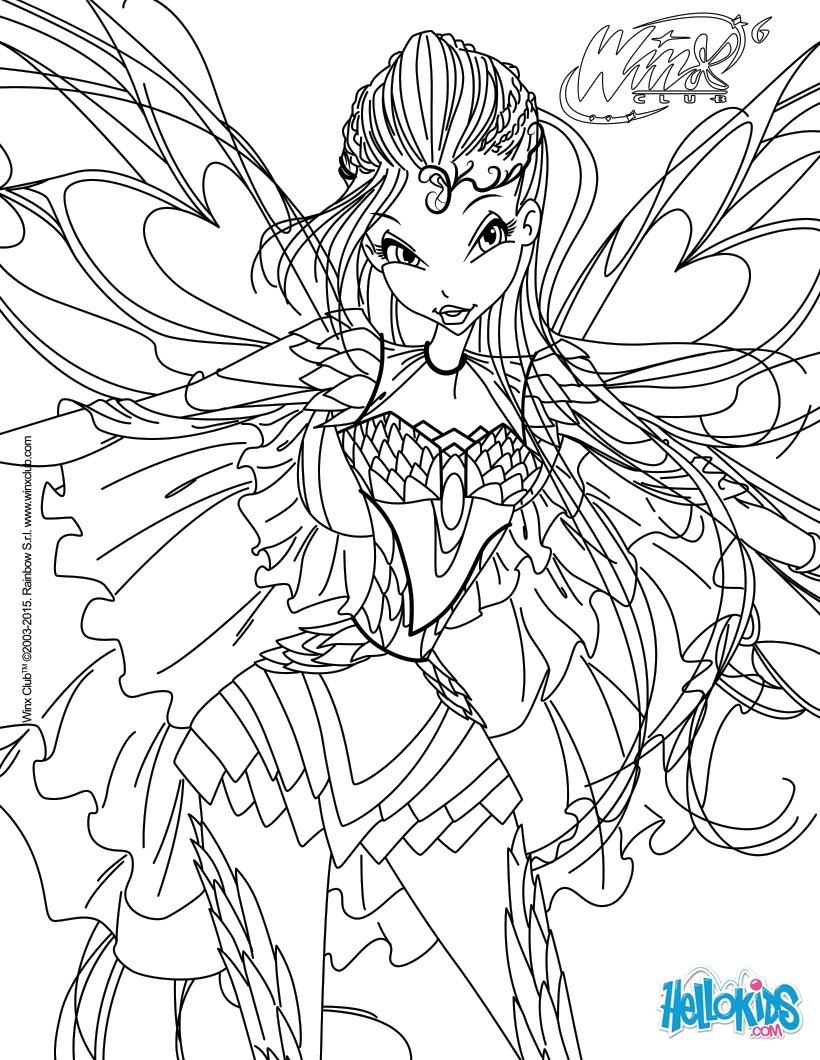 Desenhos para colorir de bloom transforma o bloomix pt - Dessin de winx ...