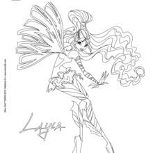 Layla, Sirenix processamento