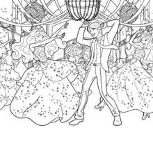 Desenhos Para Colorir De A Festa Na Escola De Princesas Coloracao