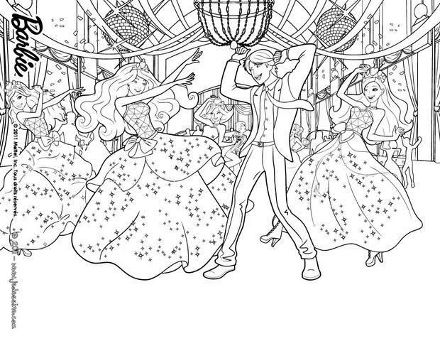 Desenhos Para Colorir De A Festa Na Escola De Princesas