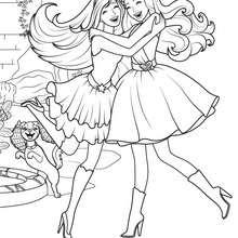 Desenhos Para Colorir De Livre Colorir Barbie Eo Segredo De Fadas