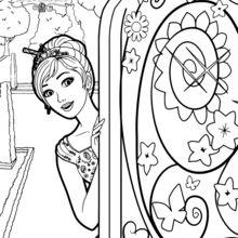 Alexa abre a porta secreta