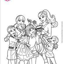 Barbie e suas irmãs em reforma sessão completa