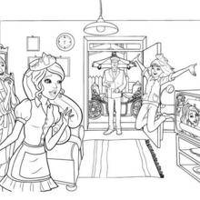Desenhos Para Colorir De Escola De Princesas Colorir Pt Hellokids Com