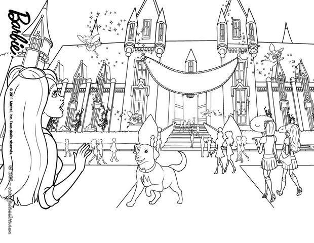 Desenhos Para Colorir De Escola De Princesas Colorir -pt