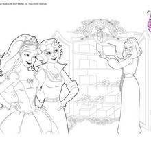 Livre para colorir Kristyn e Hailey