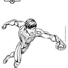 Max Steel sem capacete