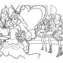 O casamento de Zane e Graciella coloração