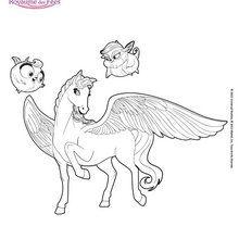 Sylvie cavalo alado Mariposa