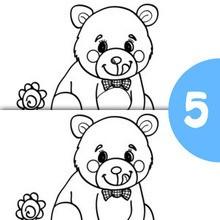Jogo dos 5 erros : URSO