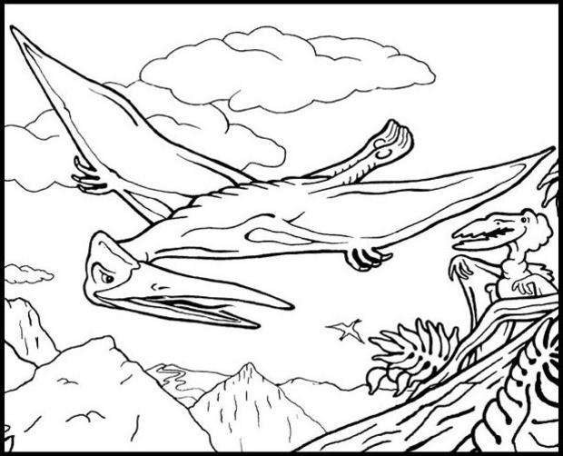 Desenhos Para Colorir De Desenho Do Tiranossauro Rex Para Colorir