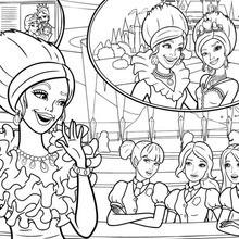 Princesa coloração Delancy