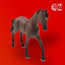 O cavalo que mudou de cor