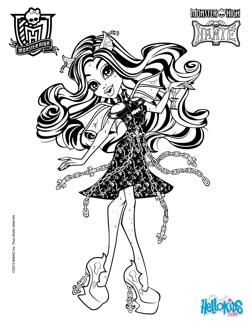 Monster High Para Colorir Desenhos Para Colorir Imprima