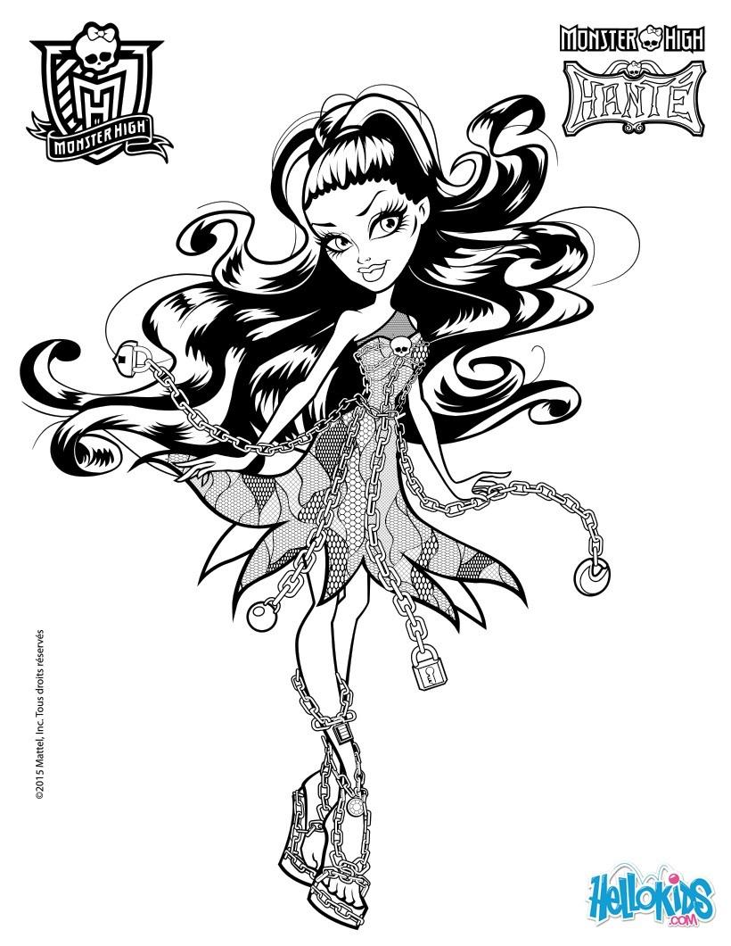 monster high para colorir desenhos para colorir imprima desenhos