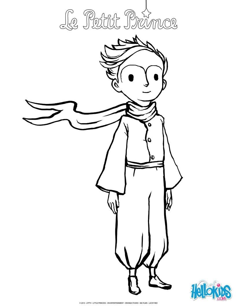 Desenhos Para Colorir De O Pequeno Principe Pt Hellokids Com