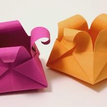 A cesta de origami