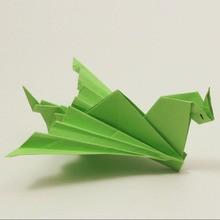 Fácil dragão origami