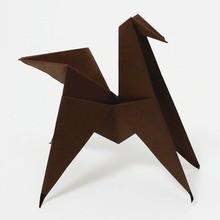 O cavalo origami