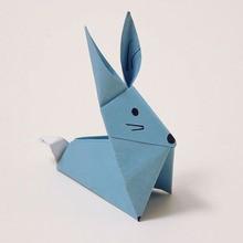 O coelho origami