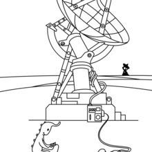A antena alienígena