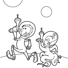 A brigada do espaço