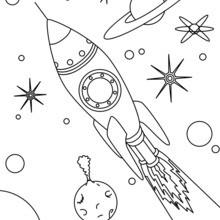 Foguete de espaço