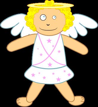 Boneca Arcanjo Gabriel