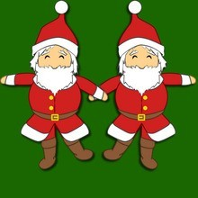 Boneca de Papai Noel