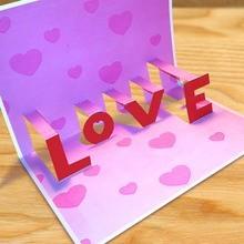 LOVE aparecer cartão tutorial