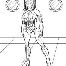 Menina Robot