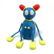 Plasticina Robot