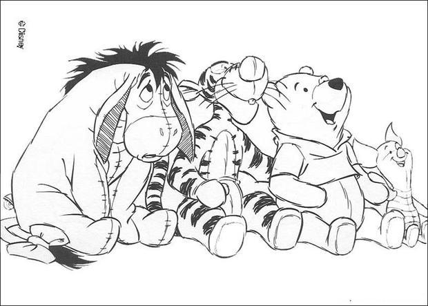 Desenhos Para Colorir De Os Amigos Do Ursinho Puff Tigr 227 O