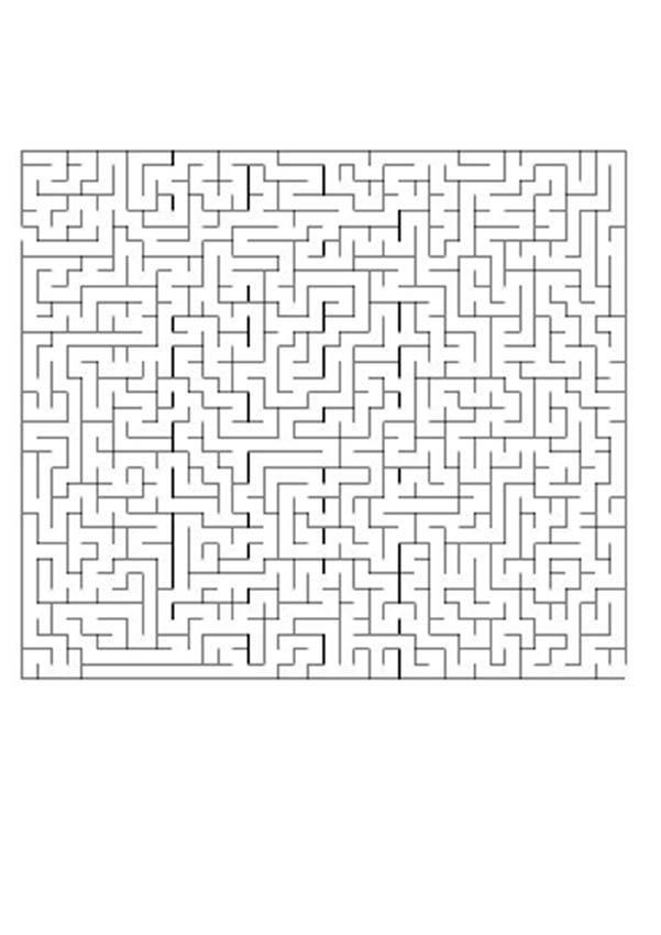 Labirinto difícil: ENCONTRE O CAMINHO CERTO