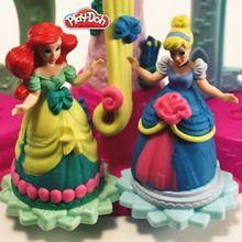 Vestidos princesas plasticina