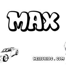 cartaz, Max